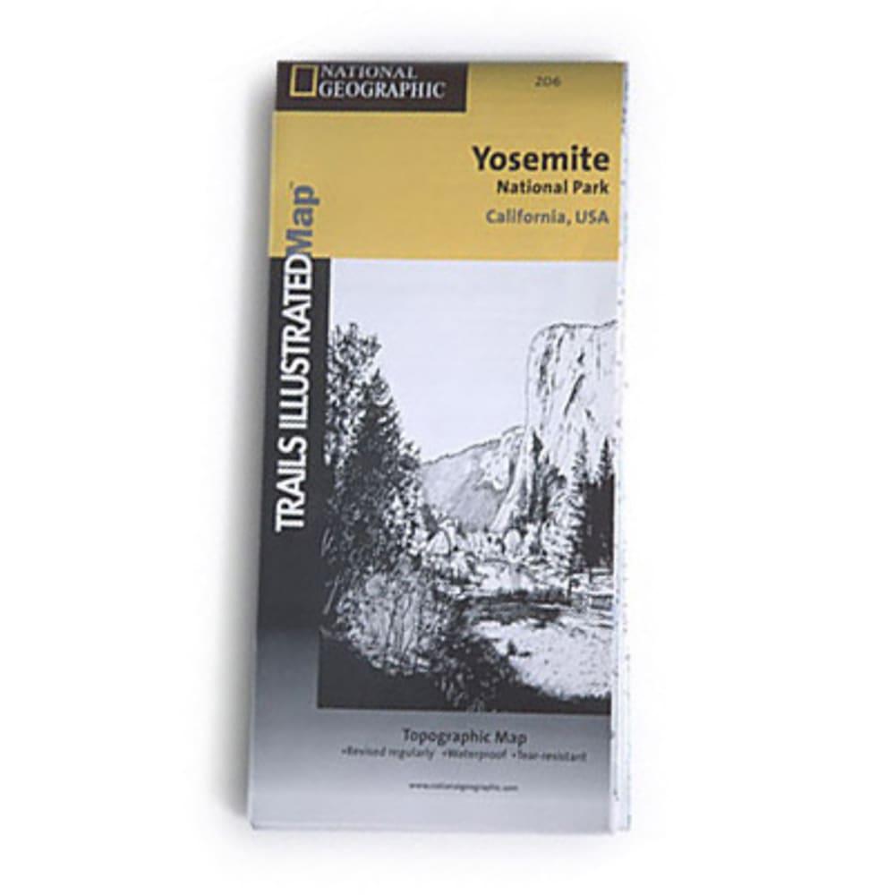 NAT GEO Yosemite Nat'l Park Map - NONE