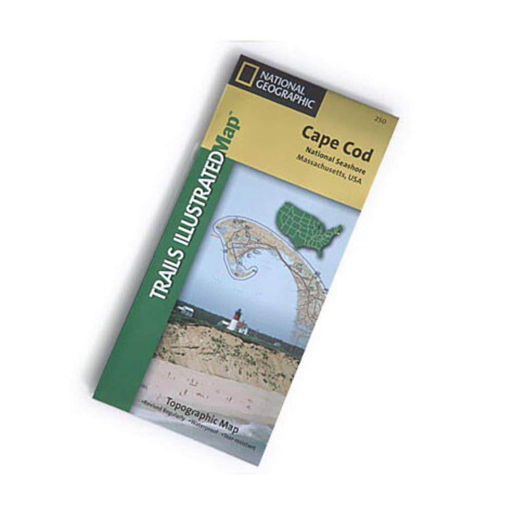 NAT GEO Cape Cod Nat'l Seashore Map - NONE