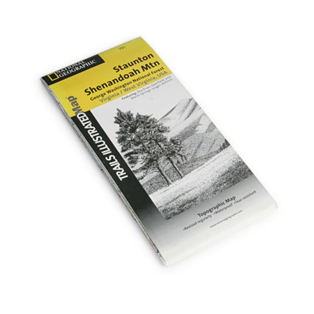 Staunton/Shenandoah Mountain Map - NONE
