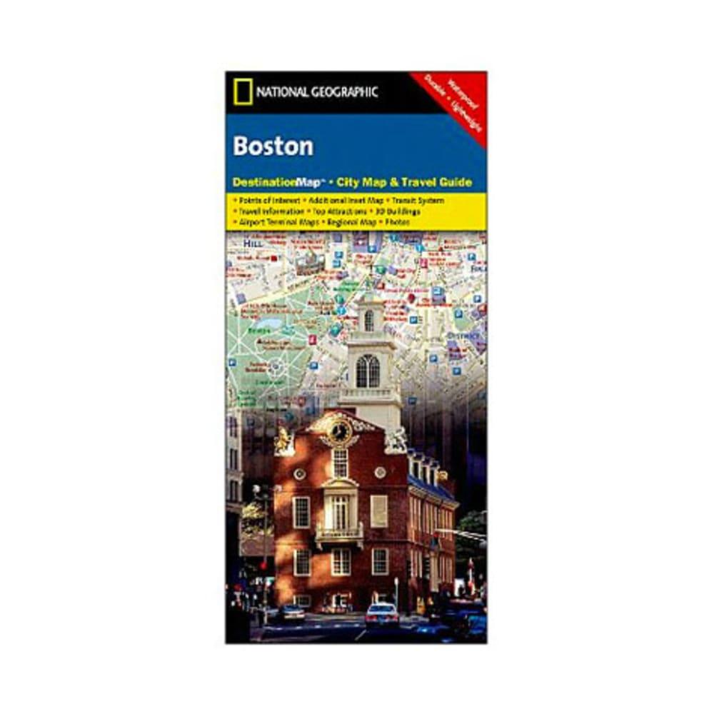 NAT GEO Boston Destination City Map - NONE