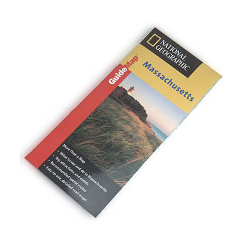 NAT GEO Massachusetts Guide Map - NONE