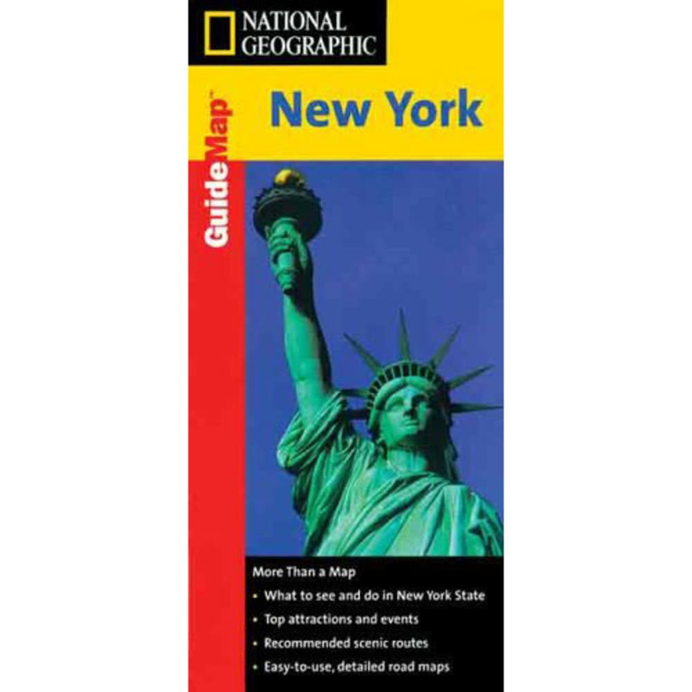NATIONAL GEOGRAPHIC GuideMap of New York - NONE