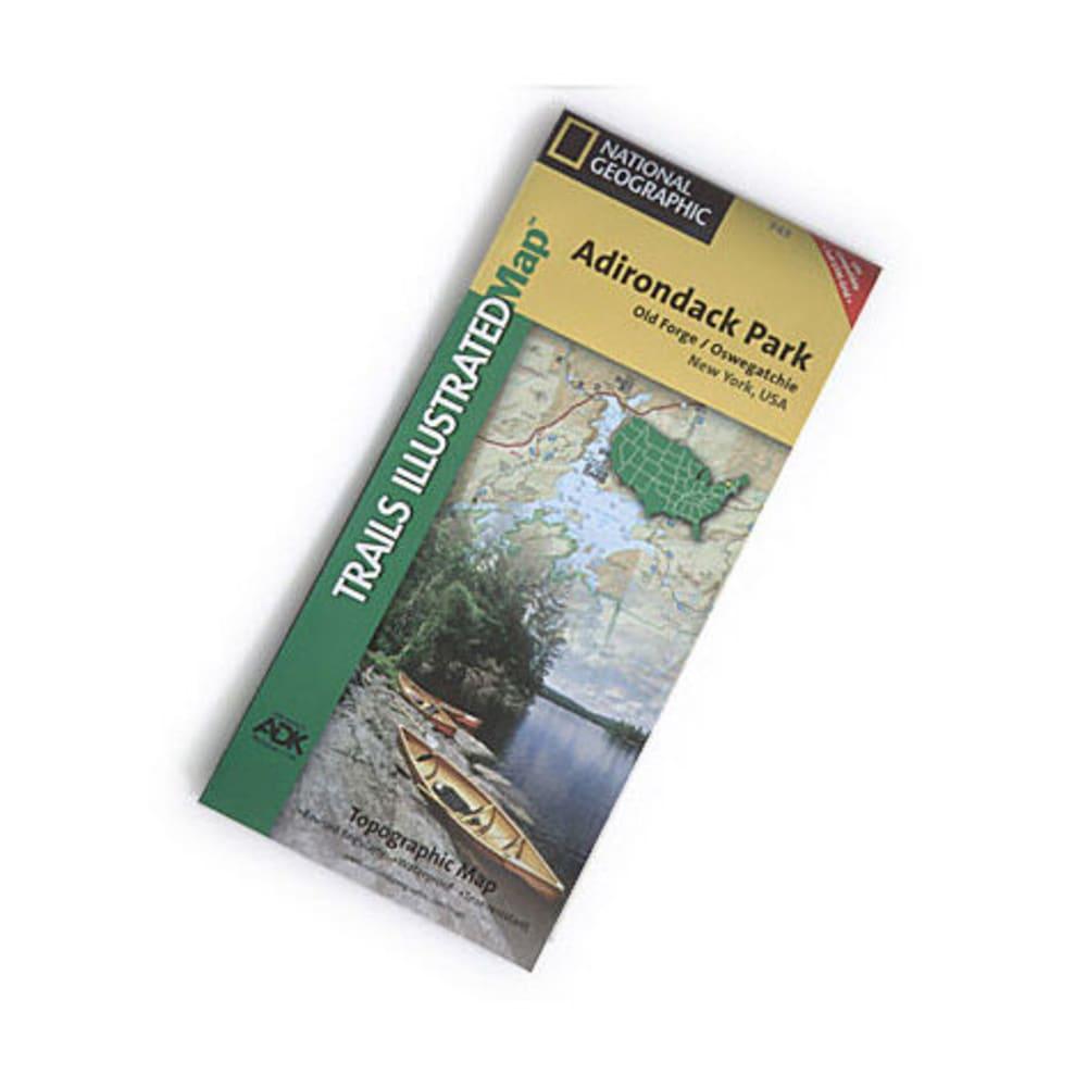 NAT GEO Adirondack Park Map, Old Forge/Oswegatchie - NONE