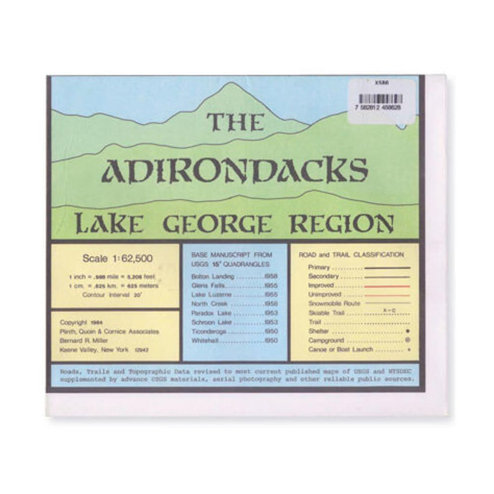 ADK Lake George Region Map NA