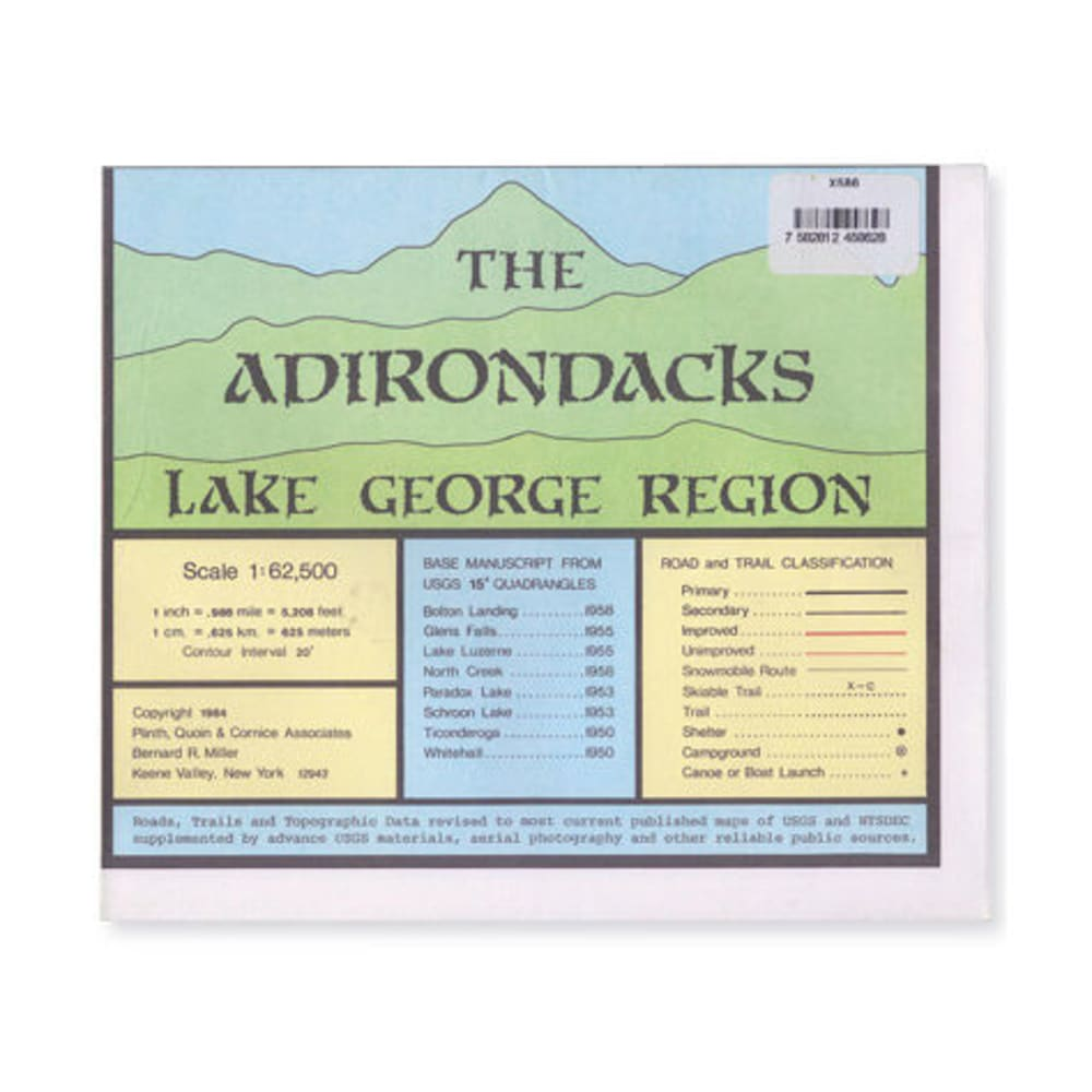 ADK Lake George Region Map - NONE