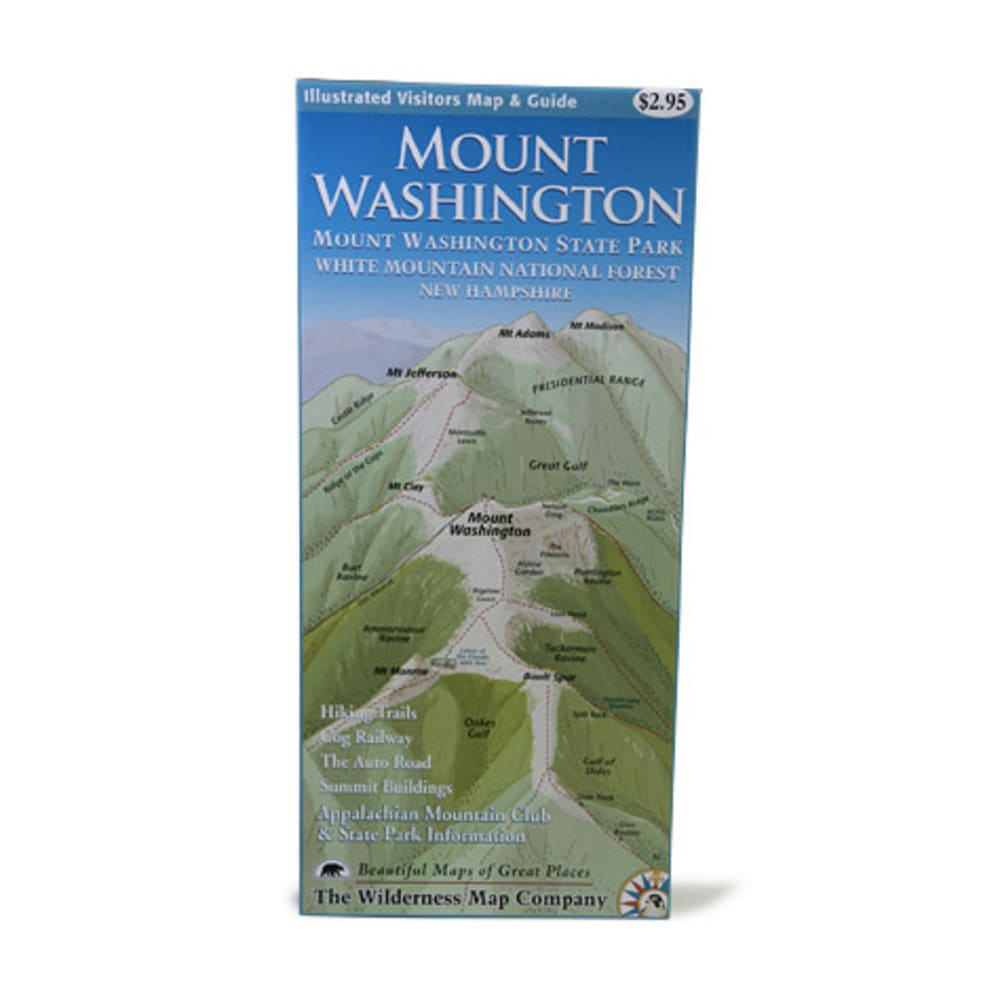 Mt. Washington Map - NONE