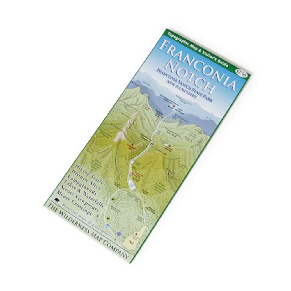 Wilderness Map Co. Franconia Notch, NH, Map