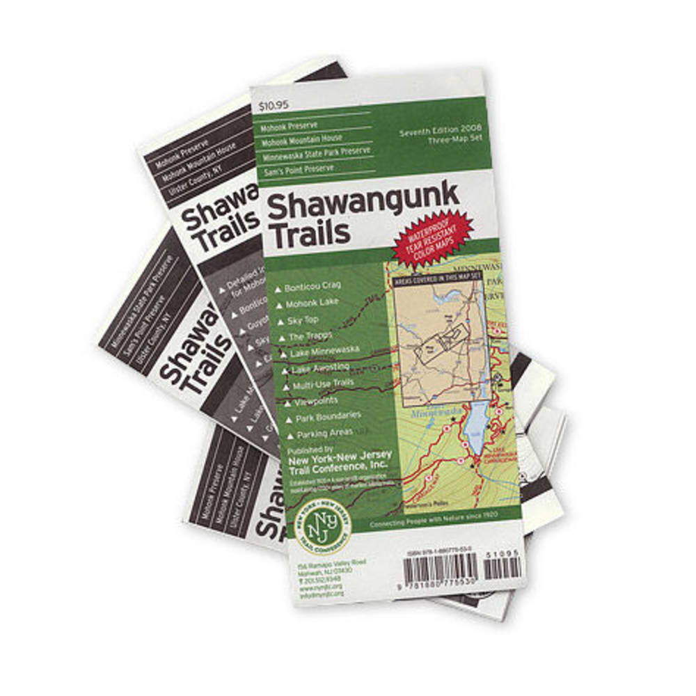 Shawangunk Trails Maps, 2008 - NONE