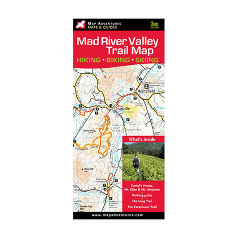 Mad River Valley Trail Map - NONE