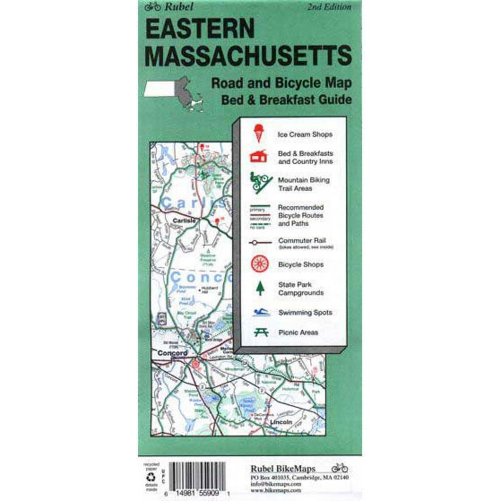Eastern Massachusetts Bike Map - NONE