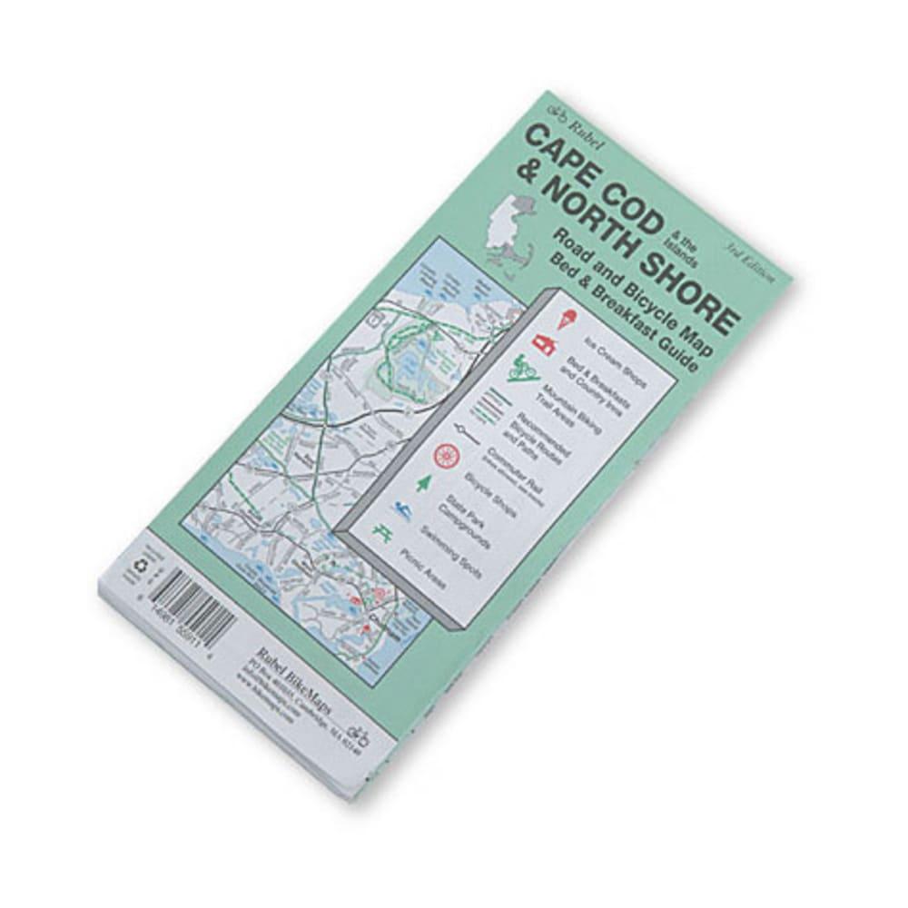 Cape Cod and North Shore Bike Map - NONE