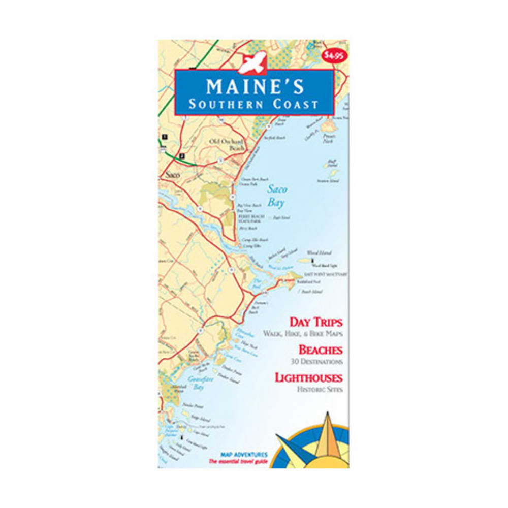 Maine's Southern Coast Map - NONE