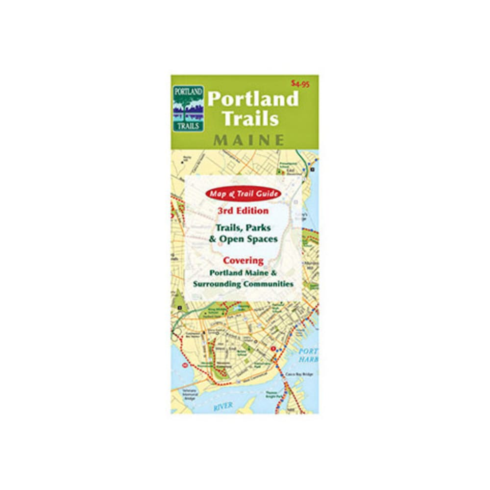 Portland Trails Map and Guide - NONE