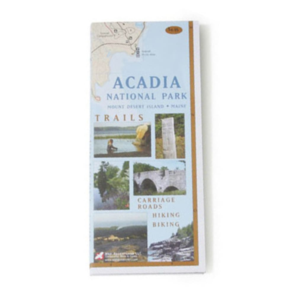 photo: Map Adventures Acadia National Park Map us northeast paper map