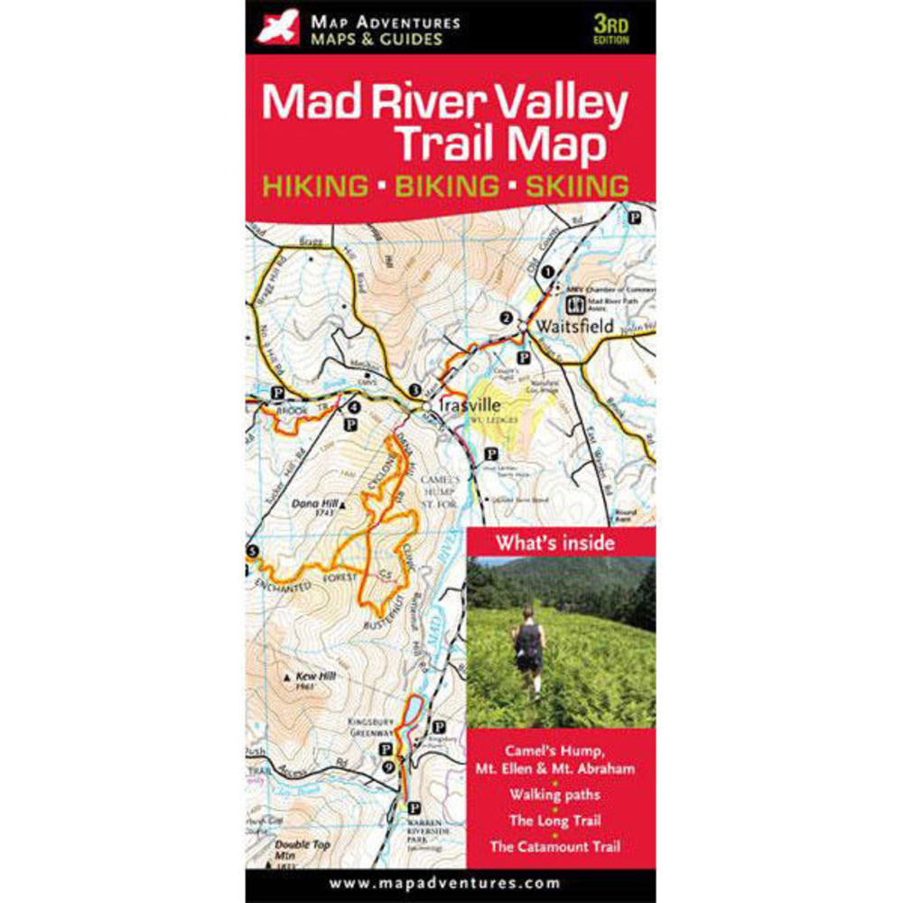 MAPS Mad River Snowshoe Trails Map - NONE