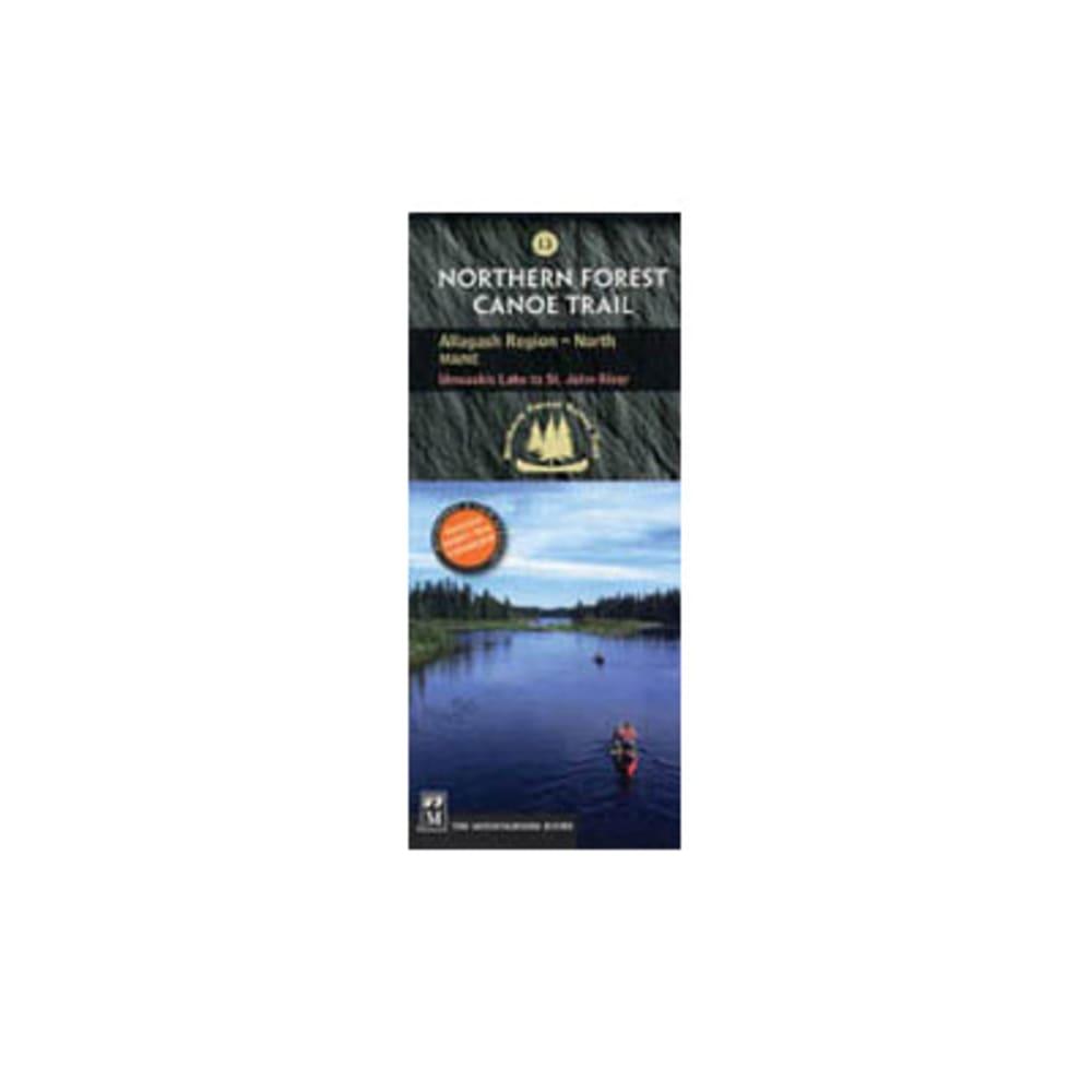 NFCT Map 13: Umsaskis Lake to St. John River NA