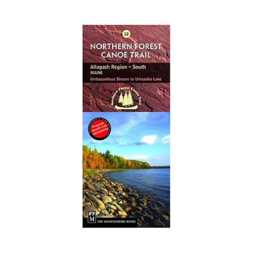 NFCT Map 12: Umbazooksas Stream to Umsaskis Lake NA