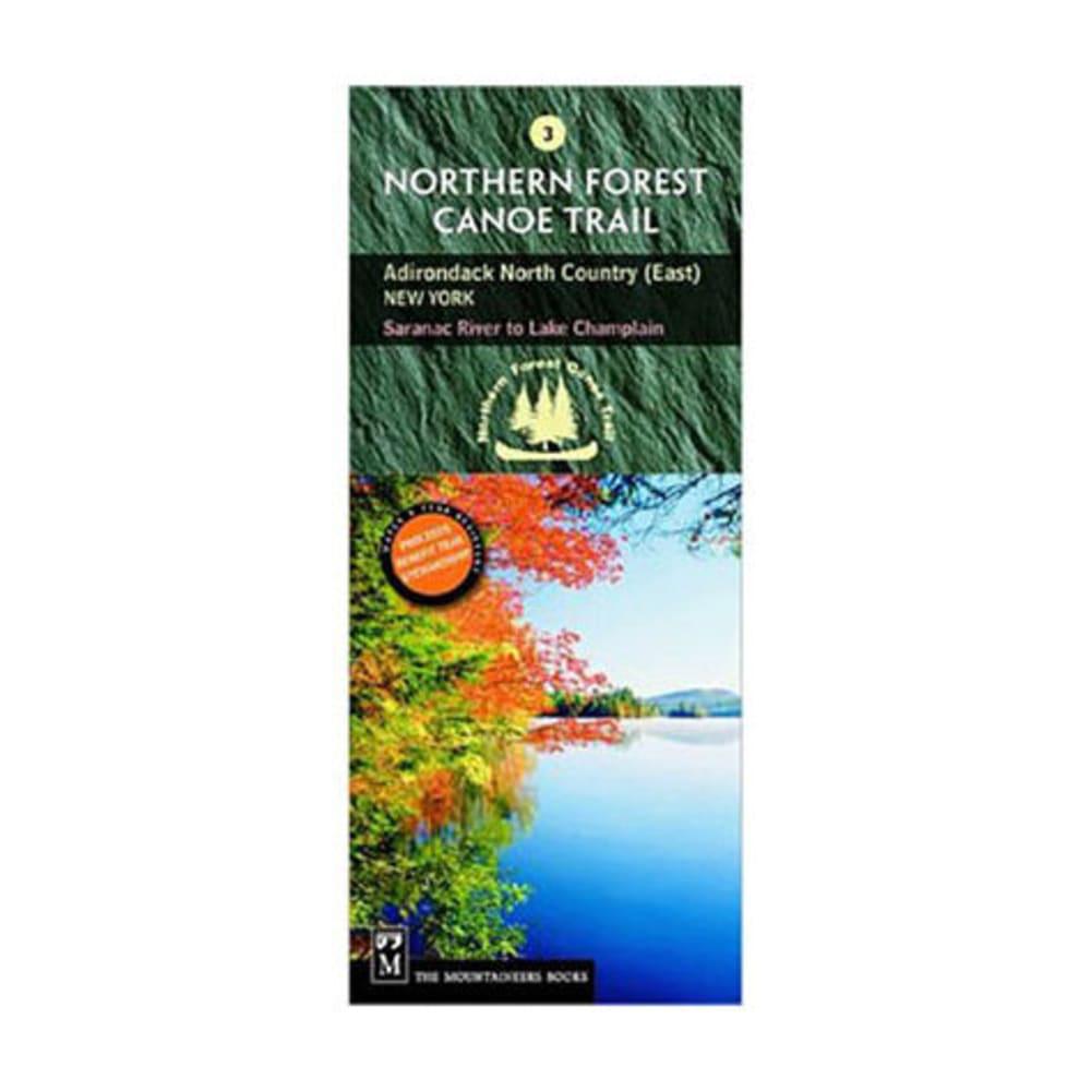 NFCT Map 3: Saranac River to Lake Champlain - NONE