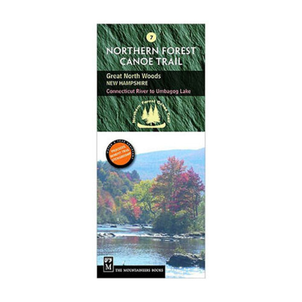The Mountaineers Books Northern Forest Canoe Trail Map #7 - Great North Woods New Hampshire