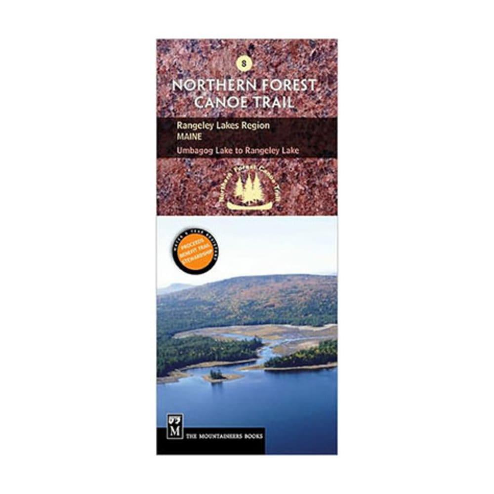 NFCT Map 8: Umbagog Lake to Rangeley Lake NA