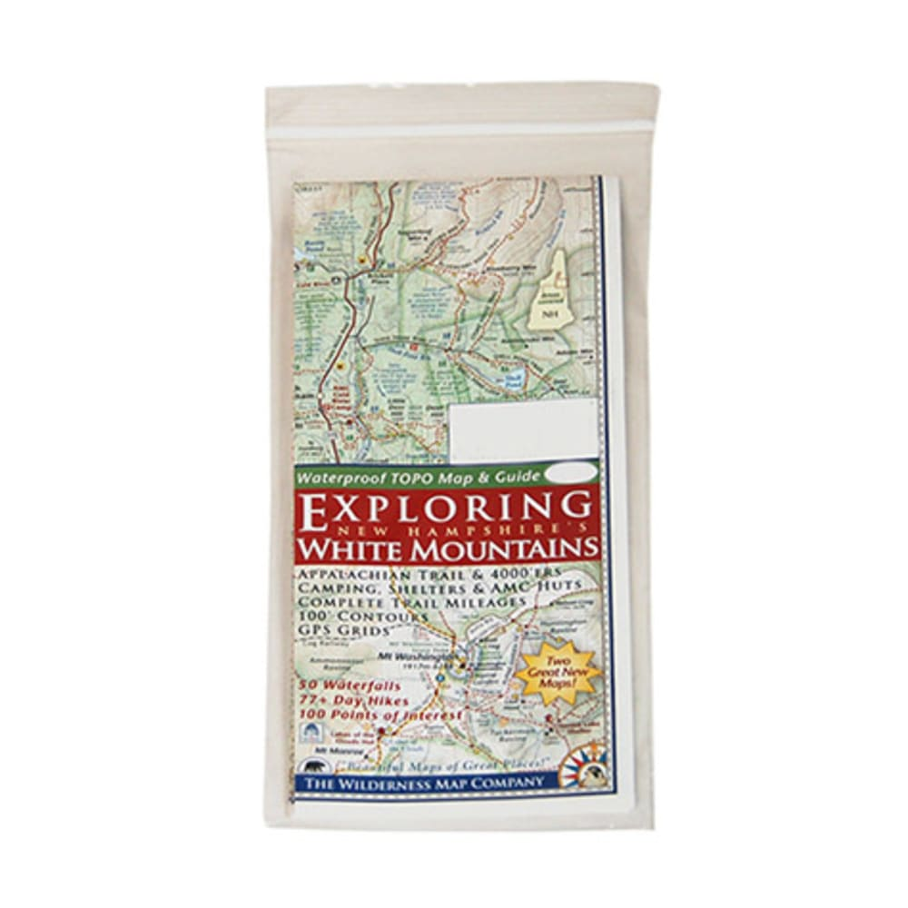 Exploring NH's White Mountains Map NA
