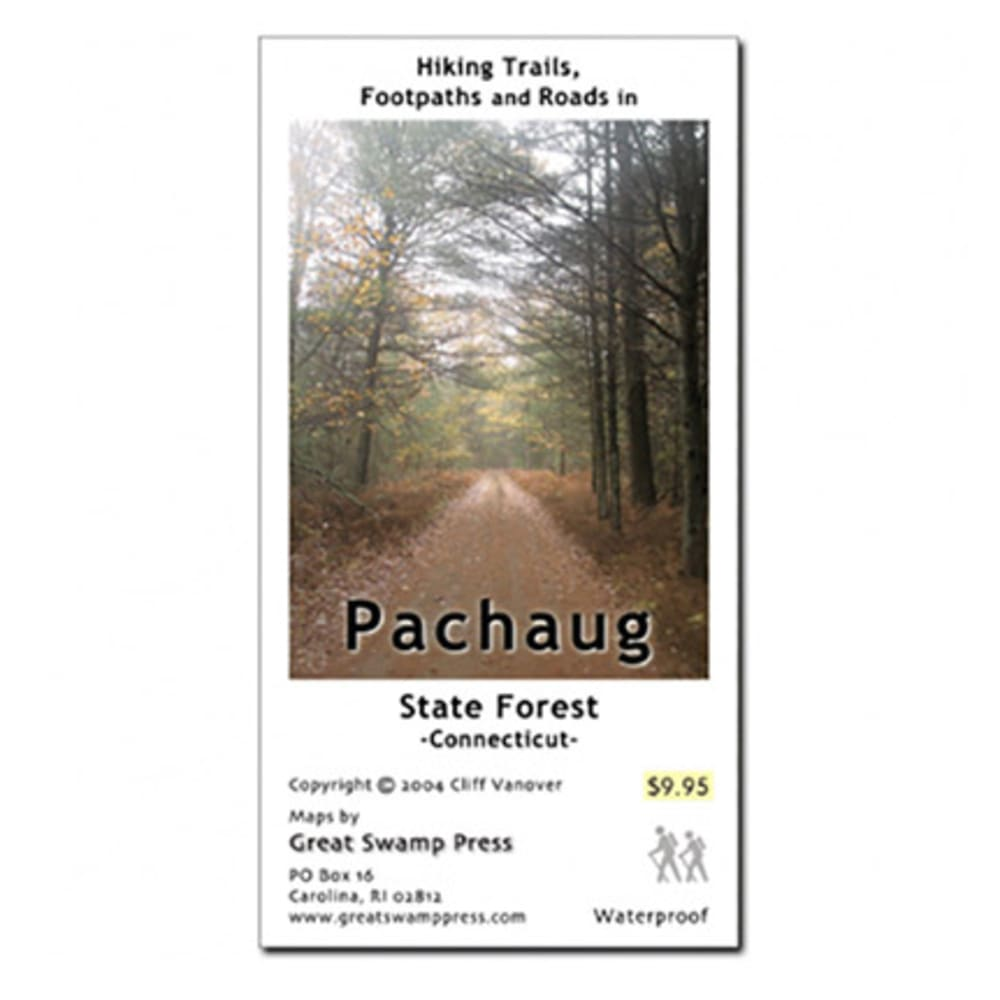 Pachaug State Forest Trail Map, Ct
