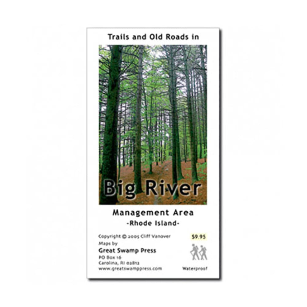 Big River Area Trail Map, RI NA