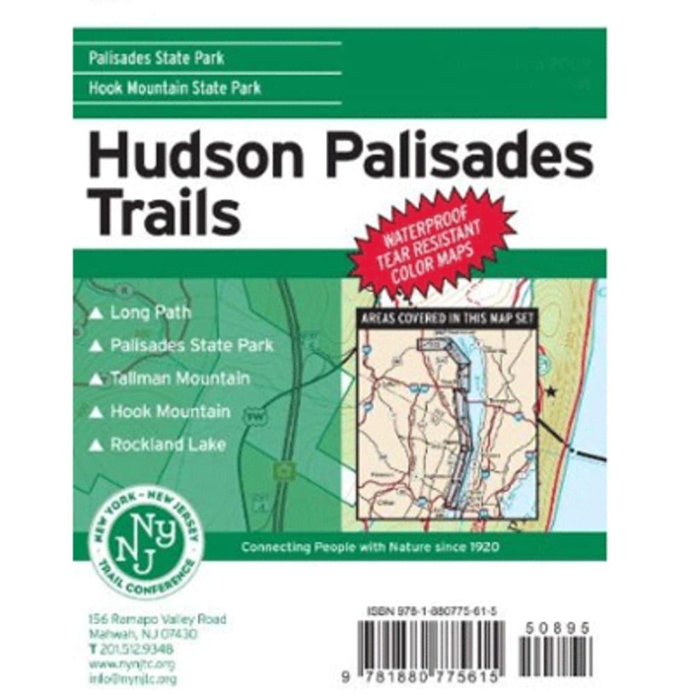 Hudson Palisades Trails Map - NONE