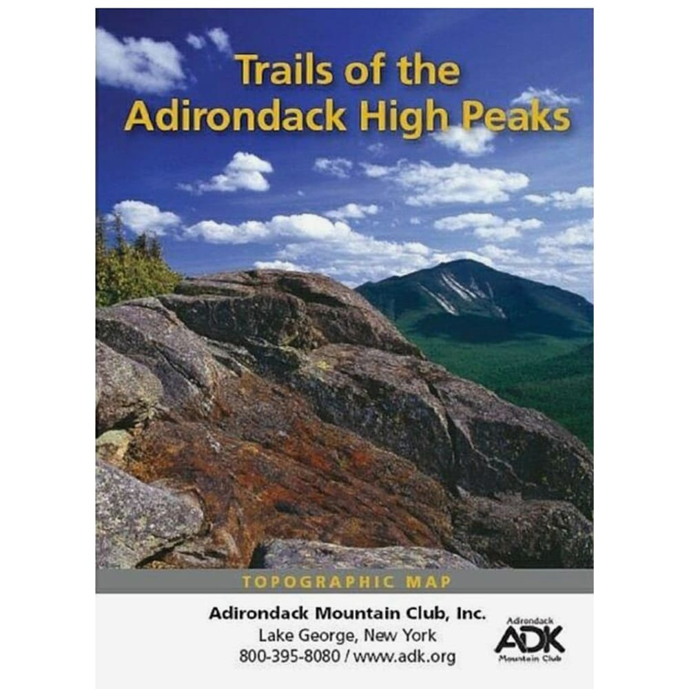 ADK Trails of the Adirondack High Peaks Region - NONE
