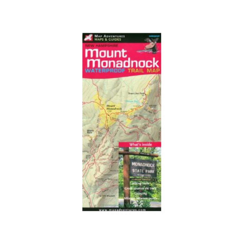 Map Adventures Mount Monadnock Trail Map