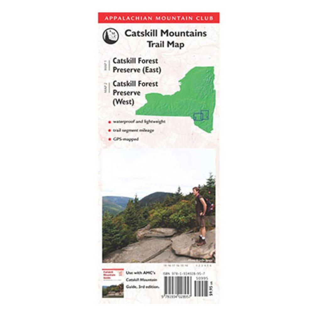 AMC Catskill Trail Map - NONE