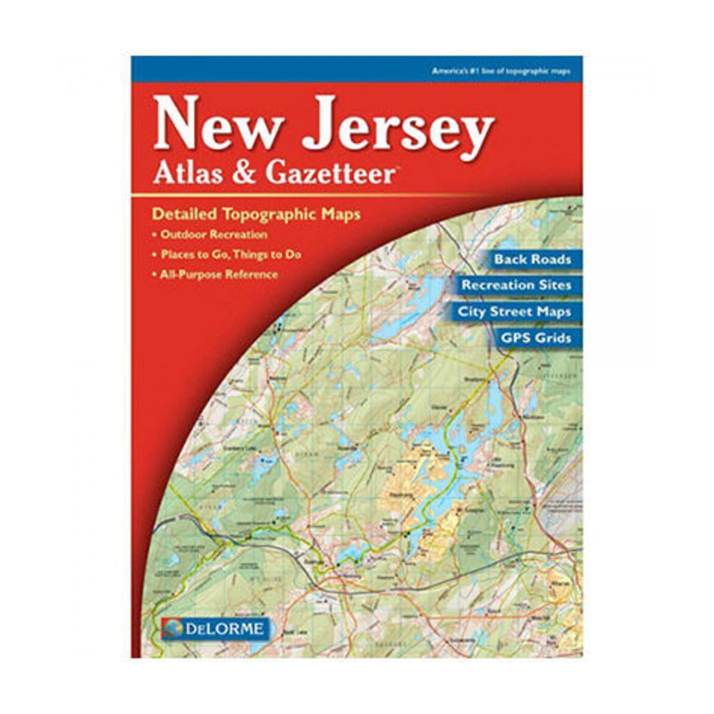 DELORME New Jersey Atlas and Gazetteer - NONE