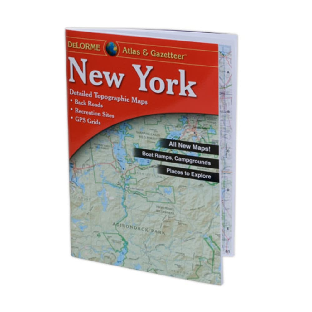 DELORME New York Atlas and Gazetteer - NONE