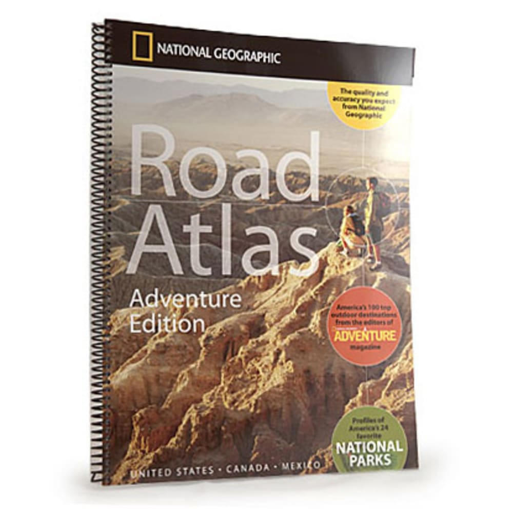 NAT GEO Road Atlas - NONE
