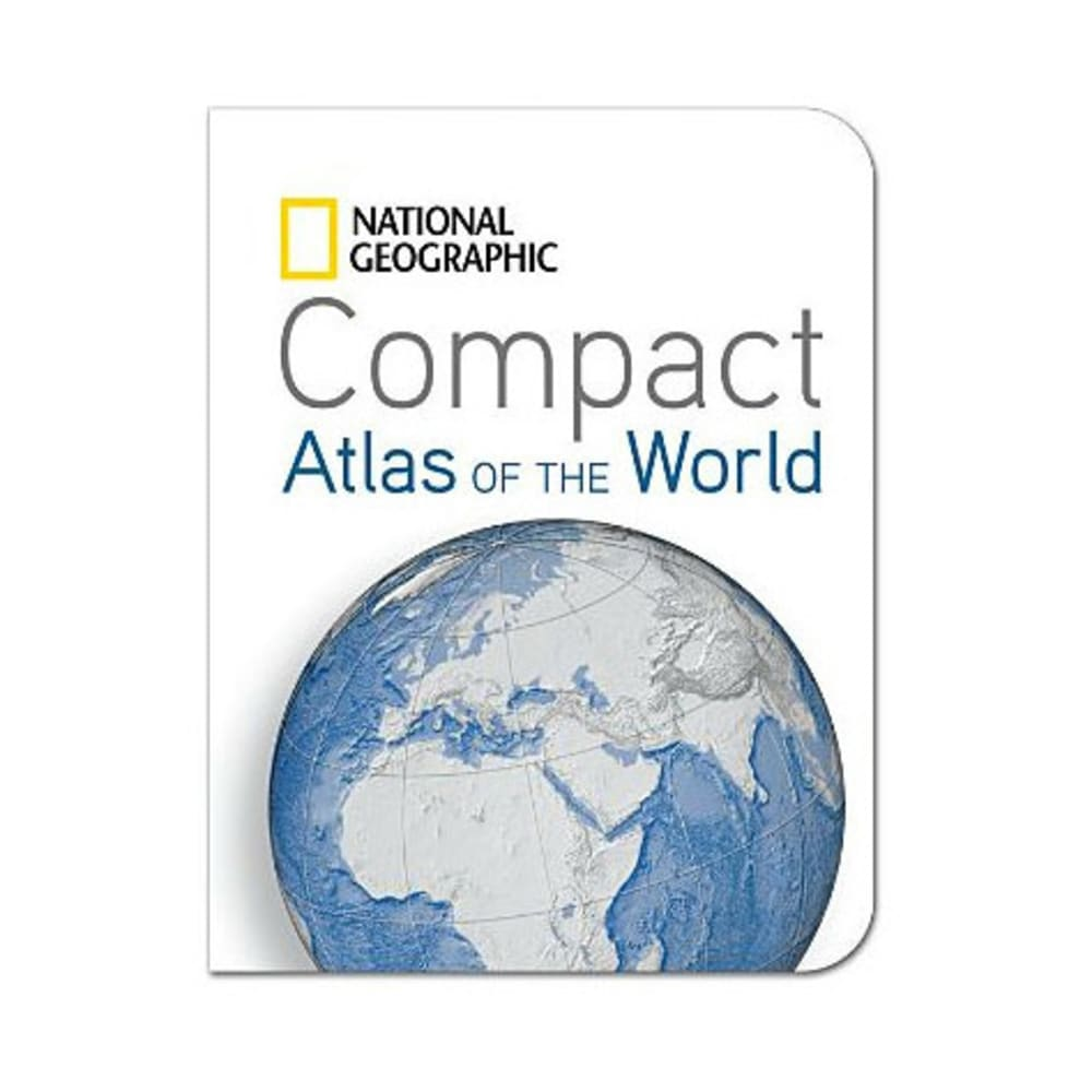 NAT GEO Compact Atlas of the World - NONE