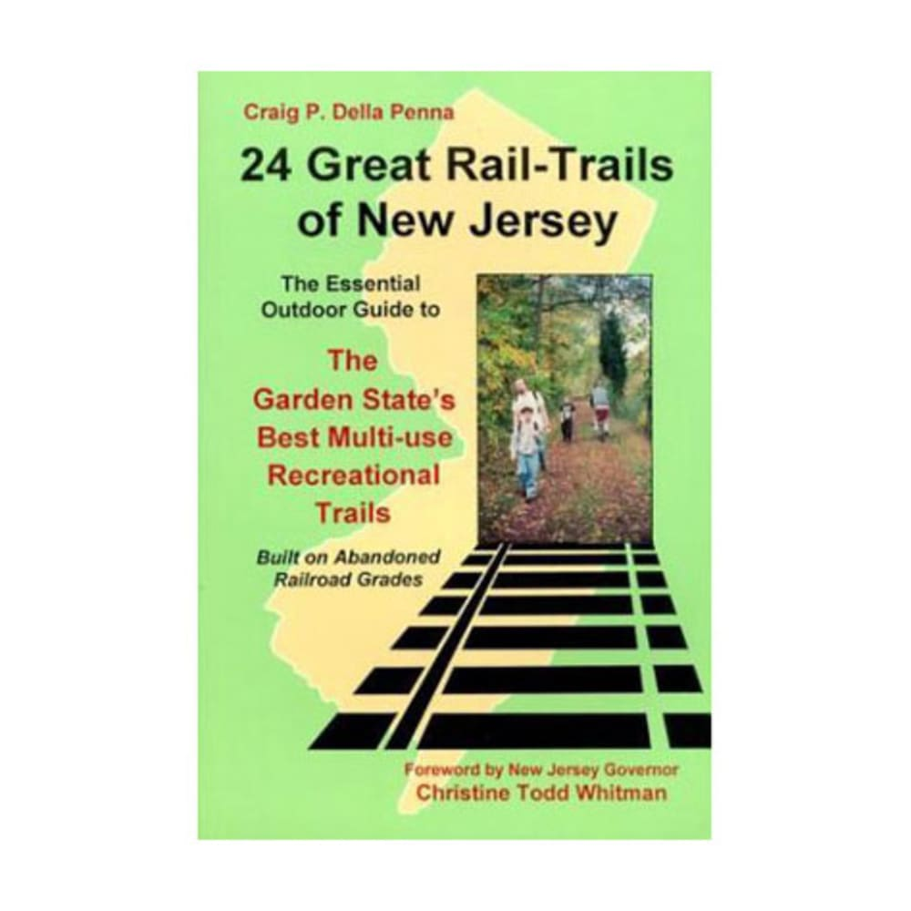 24 Great Rail-Trails of New Jersey NA
