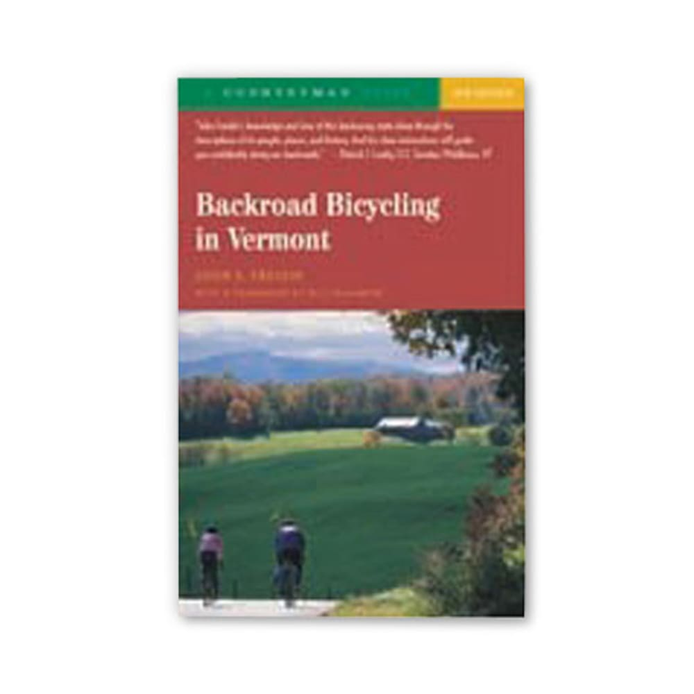 Backroad Bicycling in Vermont - NONE