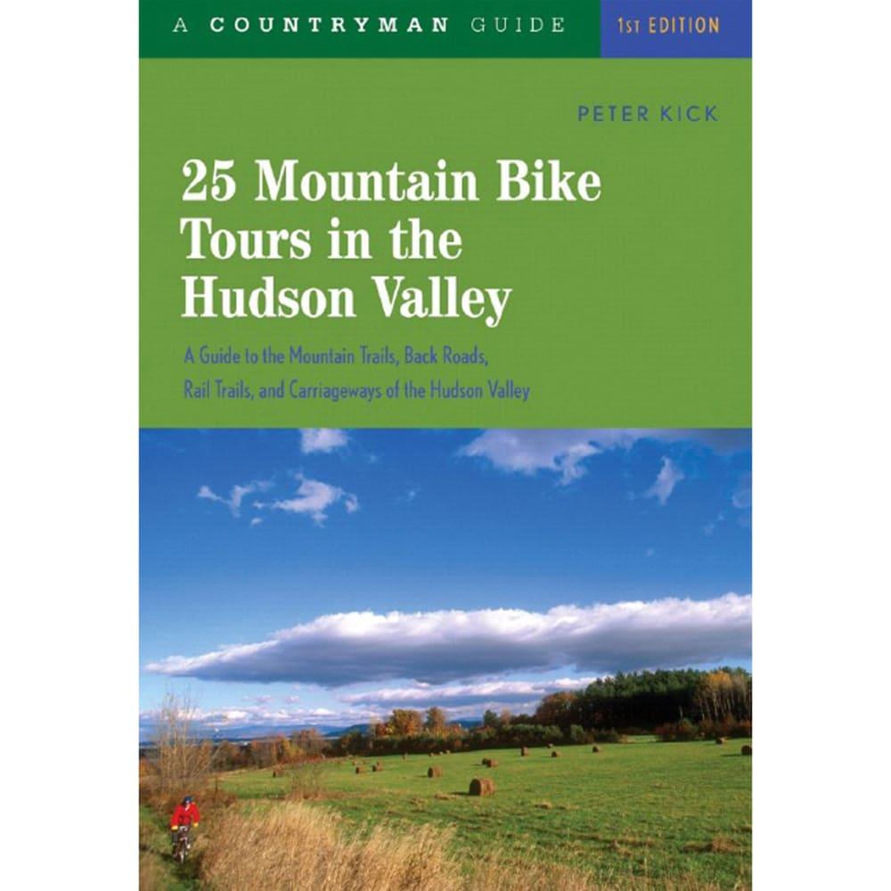 COUNTRYMAN PRESS 25 Mountain Bike Tours In The Hudson Valley - NONE