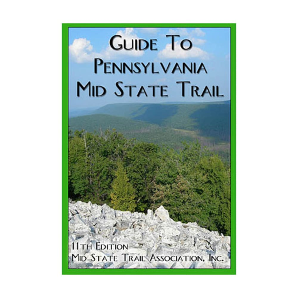 Guide to Pennsylvania Mid State Trail - NO COLOR