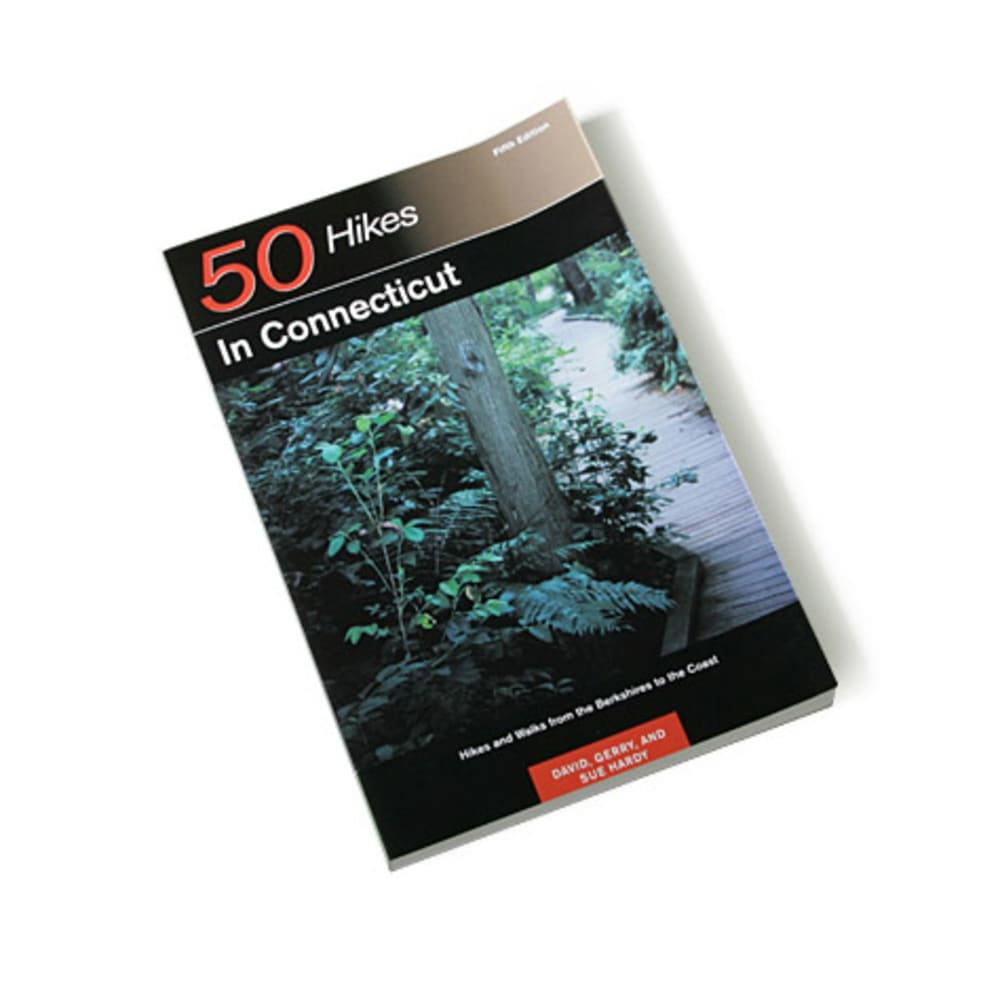 photo: Countryman Press 50 Hikes in Connecticut us northeast guidebook