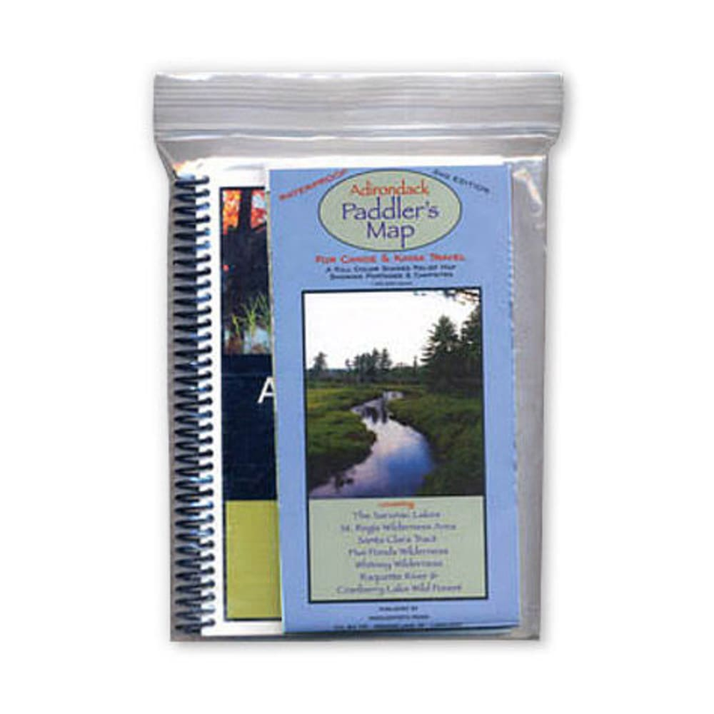 Adirondack Paddler's Guide/Map Set - NONE