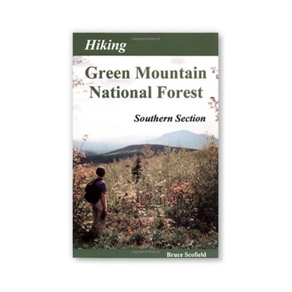 New England Cartographics Hiking Green Mountain National Forest - Southern Section