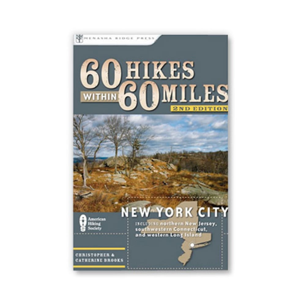 60 Hikes Within 60 Miles: New York City - NONE
