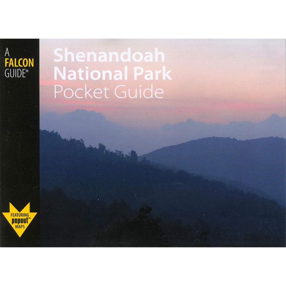 FALCON GUIDE Hiking Shenandoah National Park Pocket Guide - NONE