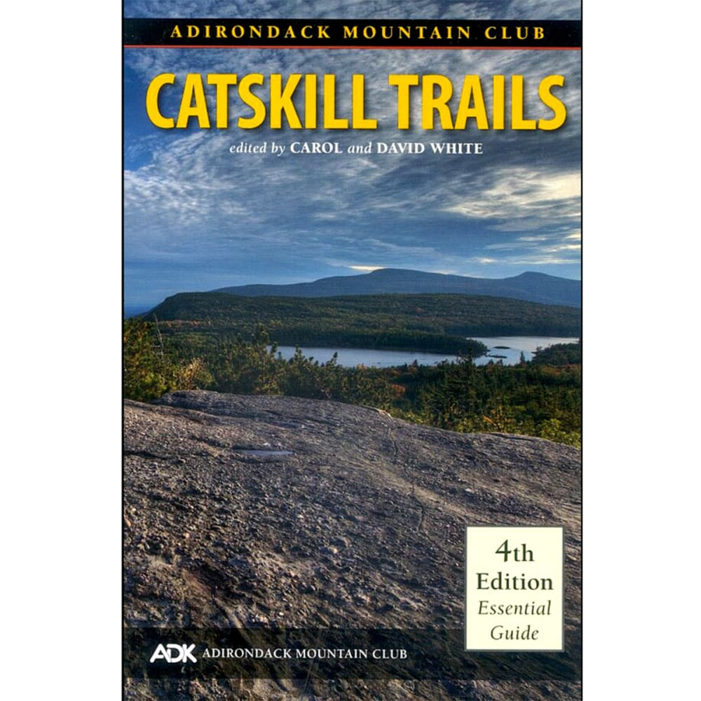 ADK Catskill Trails Guide Book NA