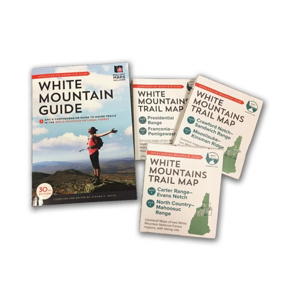 AMC White Mountain Guide, 29th Edition - NONE