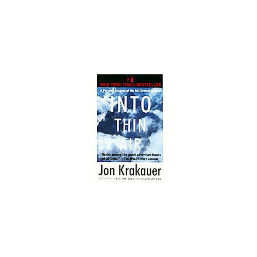 into thin air leadership Firsthand account of the everest disaster in his best-selling book into thin air using krakauer's account as a backdrop, this article exam- ines several of the leadership theories and concepts demonstrated in the failed climb specifically, this article explores the skills approach, situational leadership theory.