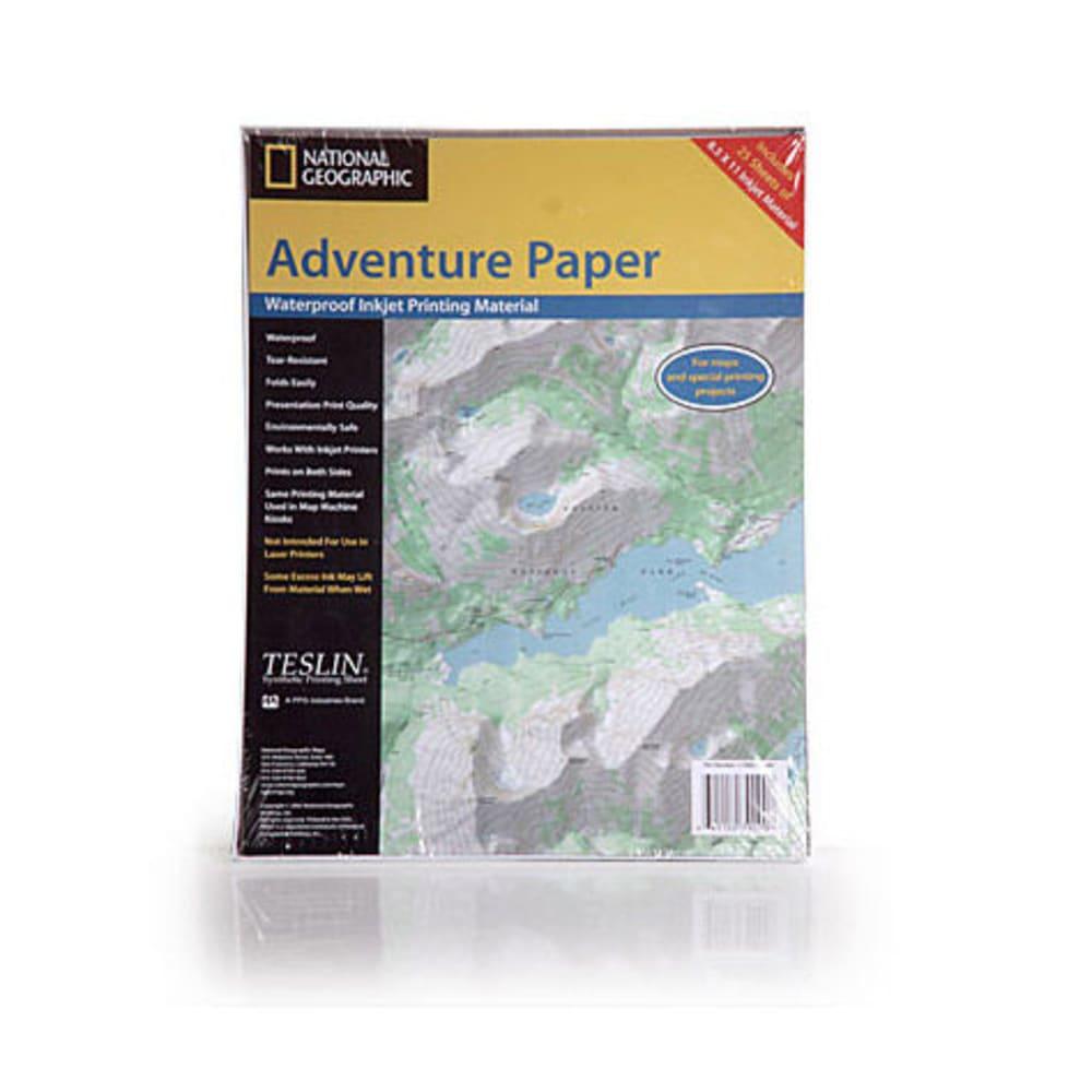 NAT GEO Adventure Paper, 25 Sheets - NONE