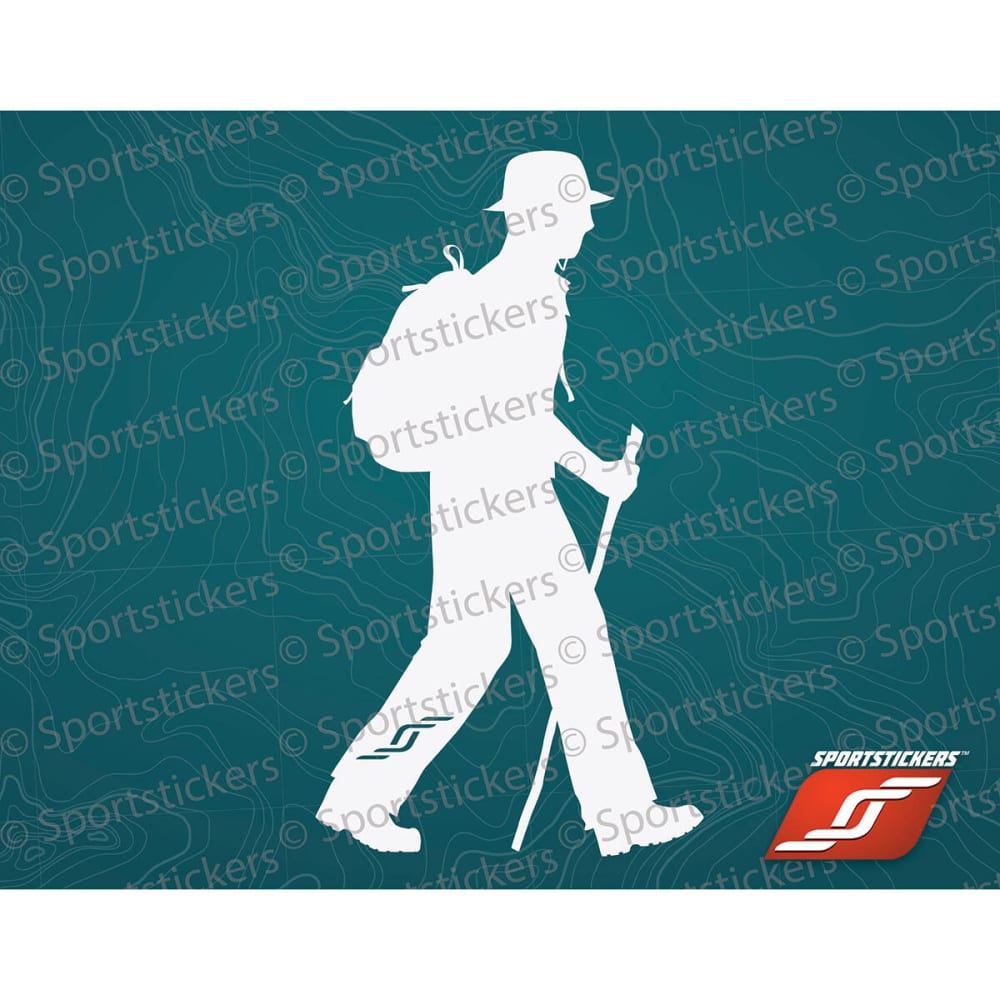 SPORTSTICKERS Day Hiker, White - WHITE