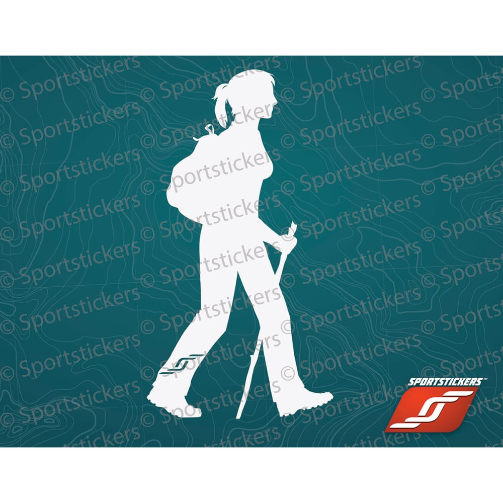 SPORTSTICKERS Women's Day Hiker, White - WHITE